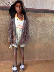 C. African Republic orphans walk to safety alone    http://globenews.co.nz/?p=10352