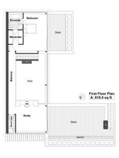 Houseplans.com Upper Floor Plan Plan #520-2