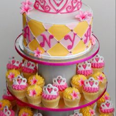 Cake&cup cake birthday