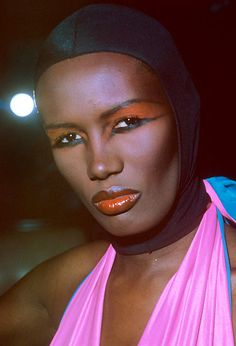 Just Eighties Fashion 1980s Makeup And Hair, 1980 Makeup, State Of Grace, Celebrities Then And Now, Grace Jones, Vintage Makeup, My Black Is Beautiful, Amazing Grace, Couture