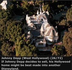 One of Johnny Depp's Homes.