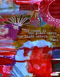 Rumi #quote from the lovely @Jessica Swift