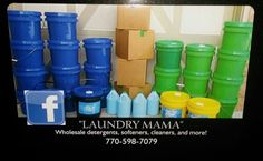 laundry soap ,fabric softener