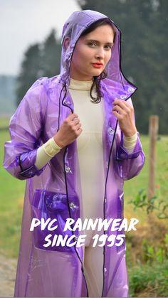 Vinyl Raincoat, Pvc Raincoat, Plastic Raincoat, Rain Bonnet, Plastic Mac, See Through Blouse, Hooded Cloak, Satin Skirt, Rain Wear