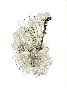 Shelly Beauch: Zentangle