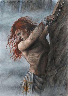 Maedhros - A Song of Valinor by Teradiam.deviantart.com on @DeviantArt