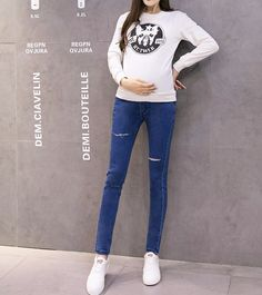 J940# Women Jeans 2017 Maternity Skinny Distressed Jeans Pants Maternity Jeans Pants Stocks - Buy Distressed Jeans,Skinny Jeans,Maternity Blue Jeans Pregnant Product on Alibaba.com