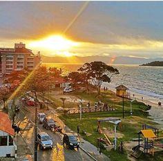 Praia de Canasvieiras em Floripa.