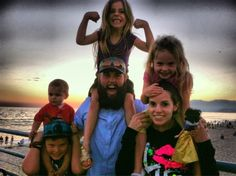 """Shay Carl! This video blogger on youtube has documented his daily life, and totally tugged on my heart strings for years now. His entire family, the """"Shaytards"""" is just pure LOVE."""