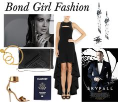 """james bond fashion"" by denisedelise on Polyvore"