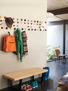 Hang-It-All Coat Rack by Charles and Ray Eames — Maxwell's Daily Find 02.25.13