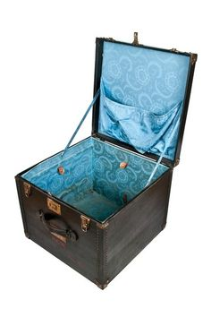 Relique. Vintage Wood Storage and Travel Trunk. $170.00 but I bet I can do it for cheaper by crafting it!