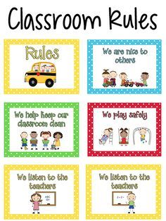 Here are some printable rules posters you can use in your classroom. Classroom Rules for Pre-K and Preschool children should be short, and easy to understand by a young child. Preschool Classroom Rules, Classroom Behavior, Preschool Activities, Classroom Management, Classroom Ideas, Preschool Procedures, Shape Activities, Behavior Management, Class Rules Poster