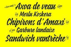 Suzee FY vintage script typeface