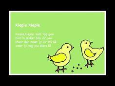 Kiepie Kiepie - Kinderrympies in Afrikaans Quotes Dream, Life Quotes Love, Rhymes Songs, Kids Songs, Napoleon Hill, Robert Kiyosaki, Tony Robbins, Alfresco Designs, Afrikaans Language