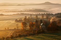 Landscape of Czechia What A Wonderful World, Beautiful World, Beautiful Places, Prague Czech Republic, Autumn Cozy, Autumn Morning, Early Morning, Photo Memories, Cool Landscapes