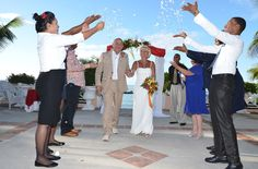 We are delighted to hear that newlyweds Mr & Mrs Dowie had a fab wedding at Coco Reef Resort, Tobago. They were kind enough to share a photo of their special day. Congratulations to a lovely couple from all at Tropical Sky!