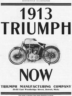 1913 Triumph.