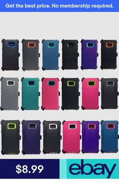 For Samsung Galaxy Note 5 Rugged Shockproof Case (Clip Fits Otterbox Defender) Otter Box, Galaxy Note 5, Samsung Galaxy Note 8, Clips, Used Iphone, Cell Phone Cases, Cell Phone Accessories, Fit, Ebay