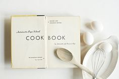Vintage 1950s Cookbook Antoinette Pope School by msjeannieology