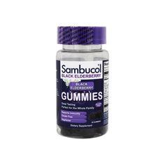 Deep Purple, Dark Blue, Flu Food, Sambucol Black Elderberry, Elderberry Gummies, Purple Fruit, Flu Prevention, Sodium Citrate