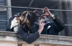 Jeffrey Dean Morgan taking a pic of Norman Reedus in Valencia, Spain at the Fallas Festival on March 16, 2017 ✌ #thewalkingdead #twd #thewalkingdeadseason7 #twdfamily #twdfinale #amc #walkingdead #rickgrimes #andrewlincoln #norman #normanreedus #daryl #dixon #michonne #chandler #chandlerriggs #carl #carlgrimes #carol #negan #lucille #maggie #glenn #love