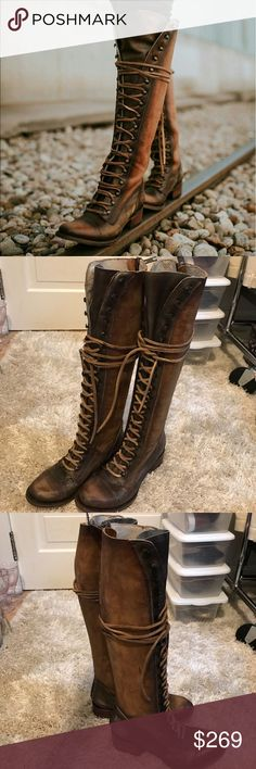 Feeebird by Steven Arlo Tan Boot Freebird Arlo Tan Boot, Brand New! Never worn! Impeccable quality! AUTHENTIC Freebirds! Please see pictures for details! Reasonable offers accepted! Bundle for a private discount! Freebird Shoes Lace Up Boots