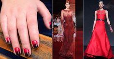 Unhas decoradas: o vermelho é tendência! Saiba como usá-lo para fazer 'ombré nails'