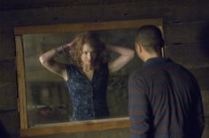 Kristen Connolly (Dana) and Jesse Williams (Holden) in The Cabin in the Woods (2012)