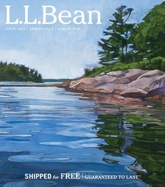 """The thermometer outside our window here in Maine confirms it's still winter, but thanks to Maine-based painter Sarah Knock that hasn't stopped us from dreaming about spring and warmer weather. Sarah's painting """"Near Birch Island"""" is..."""