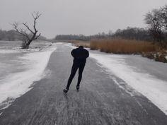 Schaatsen in de Weerribben