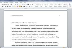 Unit IV Essay Organizational culture involves many different details, including customer service, employee benefits, and hiring/termination processes.