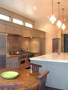 windows above cabinets in kitchen - Google Search