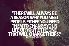 There will always be a reason
