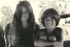 John Jr and Caroline Kennedy photographed by Peter Beard.