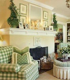 country french living rooms. French Country  pops of green is so calming 20 Dashing Living Rooms country living room