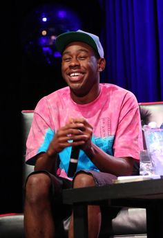 Tyler, The Creator: I can't be the only one who thinks he's adorable, right? Lol
