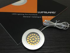 Round recess mounted cabinet light. Material:Aluminum+ PC                                                                                                                                                                                                 Size: ф65*H11mm