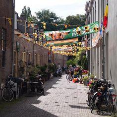 #Utrecht in oranje. #LangeRozendaal #nedchi