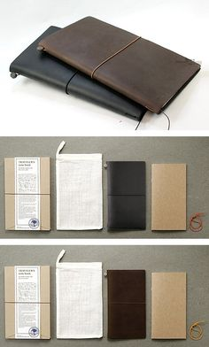 INFMETRY:: Midori Traveler's Notebook - Home