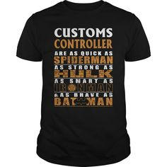(Tshirt Choice) CUSTOMS CONTROLLER BATMAN [Tshirt Sunfrog] Hoodies, Funny Tee Shirts