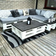 Outdoor Sofa Made From Pallets Patio La Furnire Pallet Furnire Outdoor Outdoor Sofa Pallets – processcodi.com