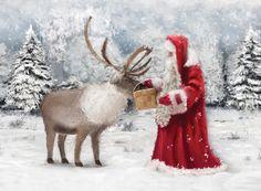 Christmas Preperation   Charity Christmas Card
