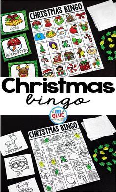 Play Christmas Bingo