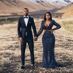 Bride Rocks Massive Cleavage-baring Dress On Wedding Day Couple Photoshoot Poses, Pre Wedding Photoshoot, Photoshoot Ideas, Wedding Shoot, Black Love Couples, Engagement Couple, Engagement Photos, Country Engagement, Winter Engagement