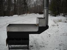 Evaporator- Maple Sugaring - Andress Sheet Metal Maple Syrup Evaporator, Tapping Maple Trees, Sugar Bush, Apple Farm, Sugaring, Metal Welding, Sheet Metal, Bushcraft, Homesteading