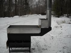 Evaporator- Maple Sugaring - Andress Sheet Metal