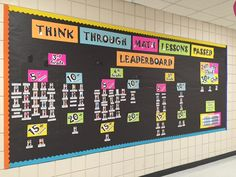 Pin by belkys carrillo on math middle school. Math Resources, Math Activities, Student Teaching, Teaching Ideas, Teaching Tools, Think Through Math, Math Bulletin Boards, Math Lab, Shabby
