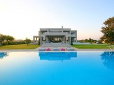 Villa for sales at Peloponnesian Princess Ilia Other Peloponnisos, Peloponneso 27100 Grecia International Real Estate, Apartments For Sale, Cool Pools, Detached House, Luxury Real Estate, Outdoor Pool, Luxury Homes, Beautiful Homes, Swimming Pools