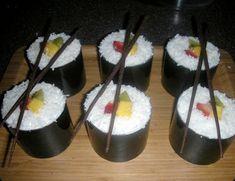 sushi cupcakes, creative & so cute!